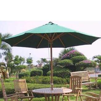 Teak parasol