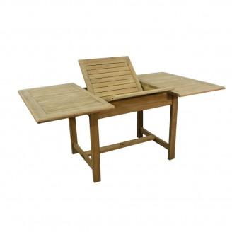 Teak stół prostokątny rozkładany 120-180-105