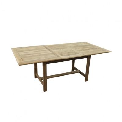 Teak stół prostokątny rozkładany 160-210-105