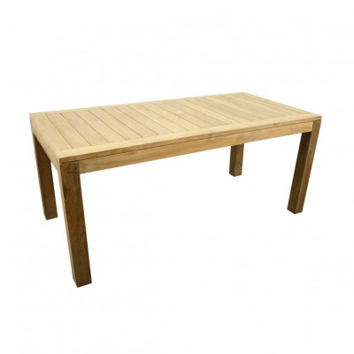 Teak stół (160cm x 90cm)