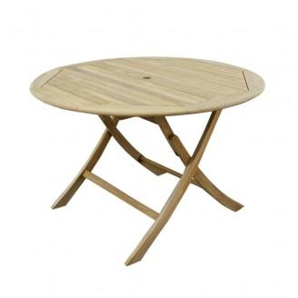 Teak Stół okrągły (100cm)