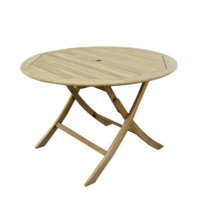 Teak Stół okrągły (120cm)