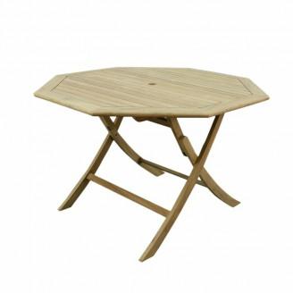 Teak stół składany 120-78-120